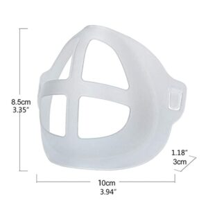 5Pcs Lipstick Protection Breathable Mask Bracket Prevent Makeup Removal Enhance Breathing Space Mask Nose Pad Bracket